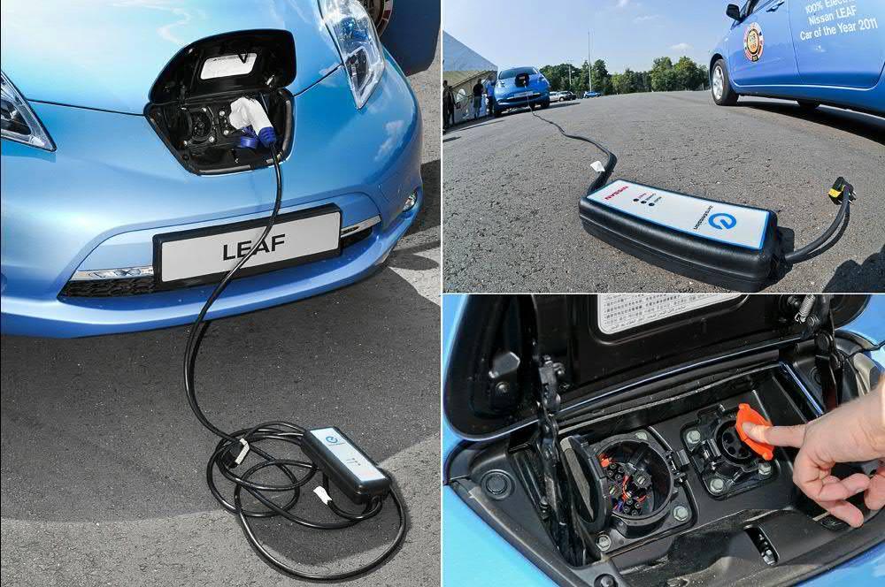 Переходник для зарядки Nissan Leaf может украсть даже
